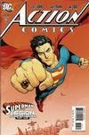 Cover Thumbnail for Action Comics (1938 series) #858 [2nd Printing]