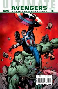 Cover Thumbnail for Ultimate Avengers (Marvel, 2009 series) #4