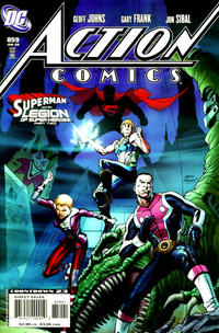 Cover Thumbnail for Action Comics (DC, 1938 series) #859 [Limited Edition Variant Cover]