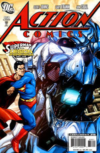 Cover Thumbnail for Action Comics (DC, 1938 series) #858 [Variant Cover]
