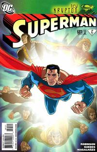 Cover Thumbnail for Superman (DC, 2006 series) #681 [1:10 variant]