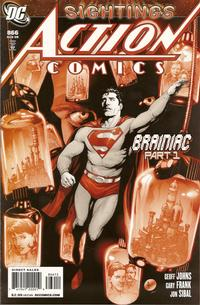 Cover Thumbnail for Action Comics (DC, 1938 series) #866 [2nd Printing]