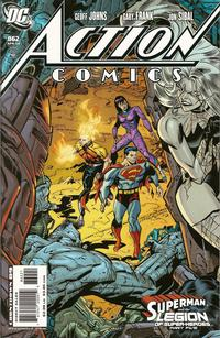 Cover for Action Comics (DC, 1938 series) #862 [Direct]