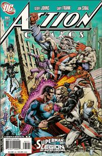 Cover Thumbnail for Action Comics (DC, 1938 series) #861 [Variant Cover]