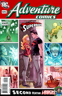 Cover Thumbnail for Adventure Comics (DC, 2009 series) #2 / 505 [Variant Cover (1 in 10)]