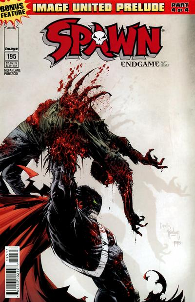 Cover for Spawn (Image, 1992 series) #195