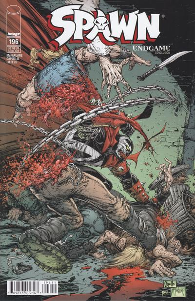 Cover for Spawn (Image, 1992 series) #196