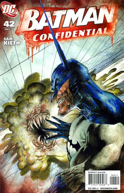 Cover for Batman Confidential (DC, 2007 series) #42