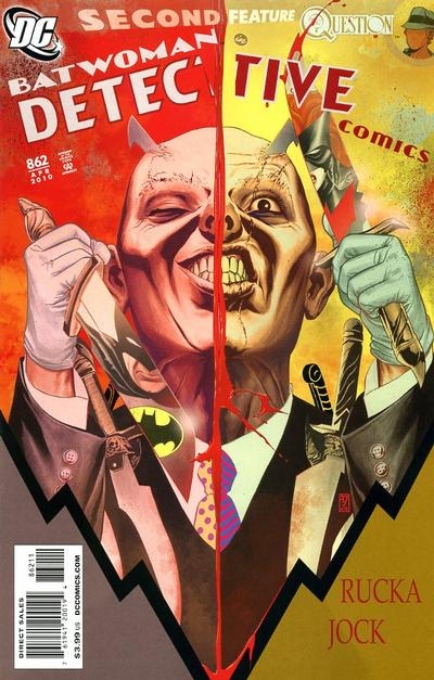 Cover for Detective Comics (DC, 1937 series) #862