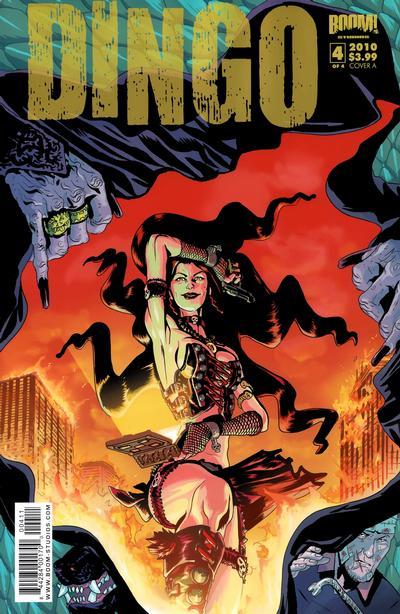 Cover for Dingo (Boom! Studios, 2009 series) #4