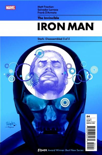 Cover for Invincible Iron Man (Marvel, 2008 series) #24