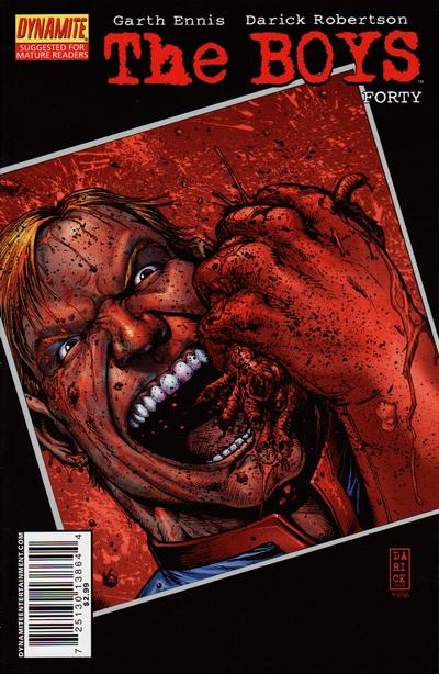 Cover for The Boys (Dynamite Entertainment, 2007 series) #40