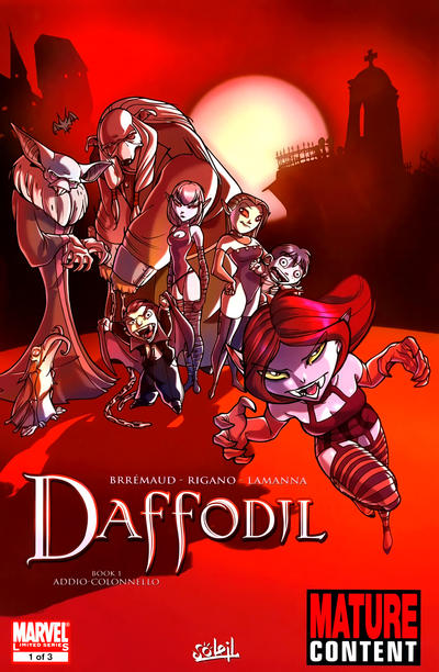 Cover for Daffodil (Marvel, 2010 series) #1