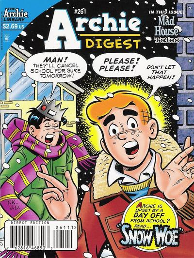 Cover for Archie Comics Digest (Archie, 1973 series) #261