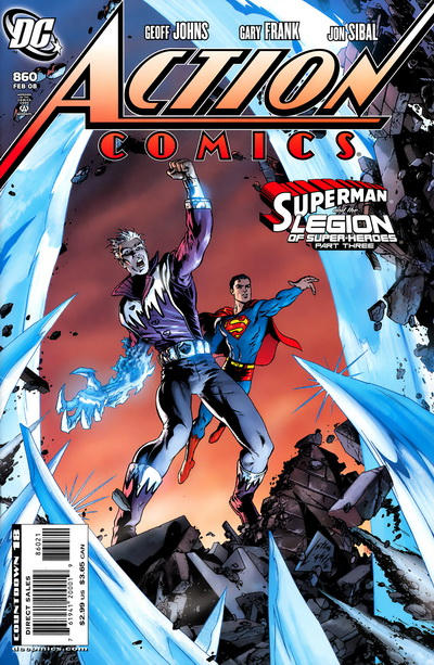Cover for Action Comics (DC, 1938 series) #860 [Direct]
