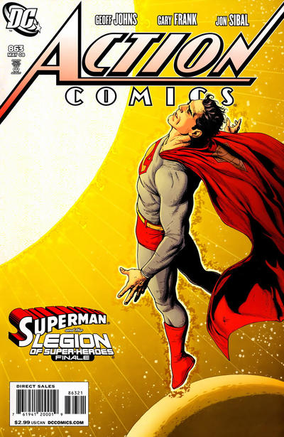 Cover for Action Comics (DC, 1938 series) #863 [Direct]