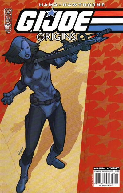Cover for G.I. Joe: Origins (IDW, 2009 series) #2 [Cover RI]