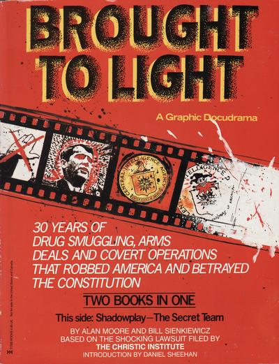Cover for Brought to Light (Eclipse, 1989 series)