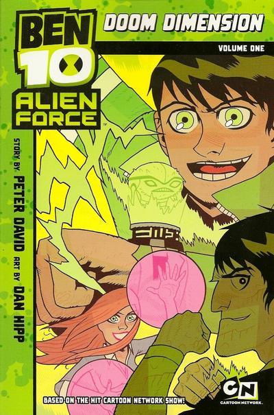Cover for Ben 10 Alien Force: Doom Dimension (Random House, 2010 series) #1