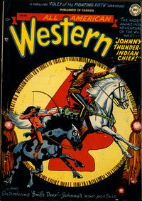 Cover Thumbnail for All-American Western (Simcoe Publishing & Distribution, 1949 series) #113
