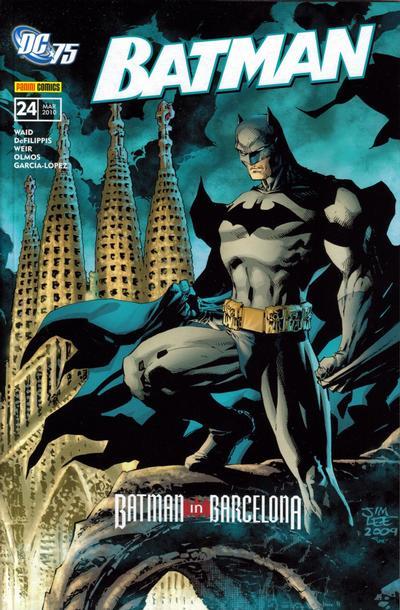 Cover for Batman Sonderband (Panini Deutschland, 2004 series) #24 - Batman in Barcelona