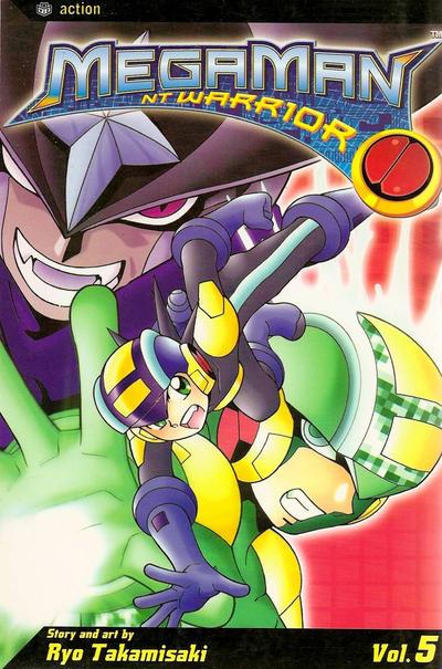 Cover for MegaMan NT Warrior (Viz, 2004 series) #5