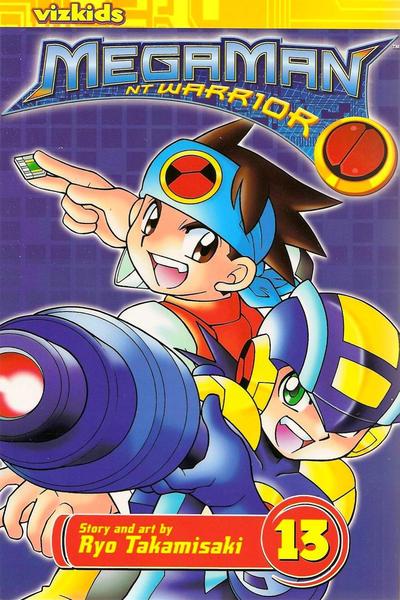 Cover for MegaMan NT Warrior (Viz, 2004 series) #13