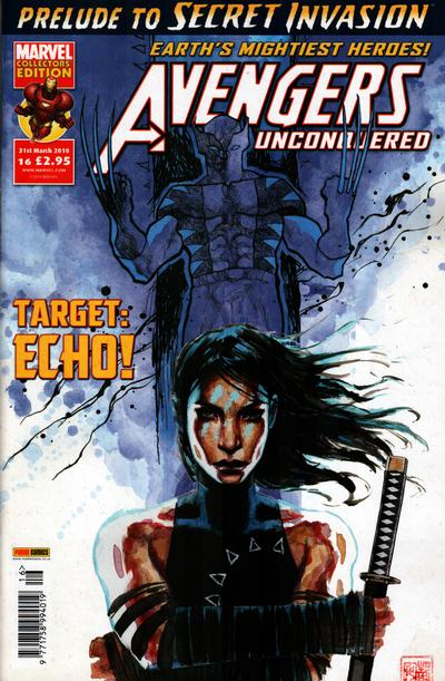 Cover for Avengers Unconquered (Panini UK, 2009 series) #16