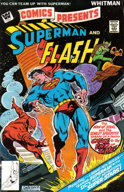 Cover for DC Comics Presents (DC, 1978 series) #1