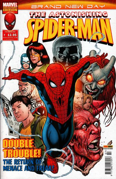 Cover for Astonishing Spider-Man (Panini UK, 2009 series) #7