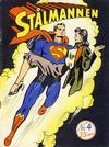 Cover for Stålmannen (Serieforlaget / Se-Bladene / Stabenfeldt, 1952 series) #4/1952