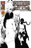 Cover Thumbnail for Witchblade and Tomb Raider (2005 series) #1 [Black and White Variant]