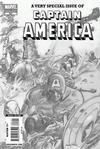 Cover Thumbnail for Captain America (2005 series) #601 [Gene Colan Pencil Variant]