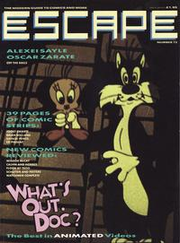Cover Thumbnail for Escape (Titan, 1986 series) #12