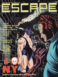 Cover Thumbnail for Escape (Titan, 1986 series) #13
