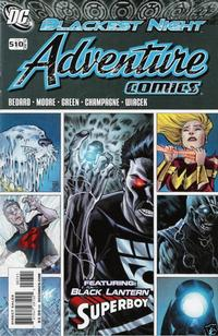 Cover Thumbnail for Adventure Comics (DC, 2009 series) #7 / 510 [Variant Cover (1 in 10)]