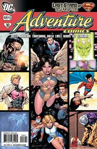 Cover Thumbnail for Adventure Comics (DC, 2009 series) #8 / 511 [Variant Cover (1 in 10)]