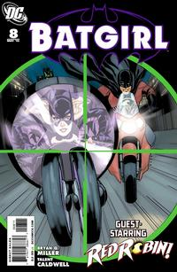 Cover for Batgirl (DC, 2009 series) #8 [Newsstand]