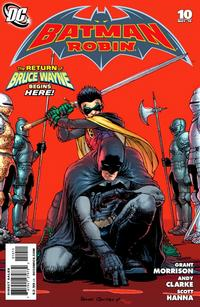 Cover Thumbnail for Batman and Robin (DC, 2009 series) #10