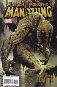Cover Thumbnail for Legion of Monsters: Man-Thing (Marvel, 2007 series) #1