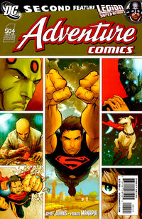 Cover Thumbnail for Adventure Comics (DC, 2009 series) #1 / 504 [Limited Edition Variant Cover]