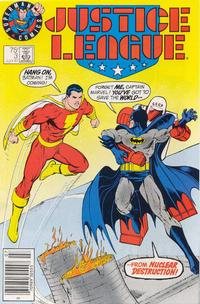Cover Thumbnail for Justice League (DC, 1987 series) #3 [Test Market Cover]