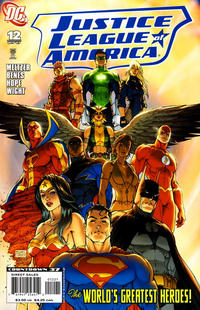 Cover for Justice League of America (DC, 2006 series) #12 [Cover A]