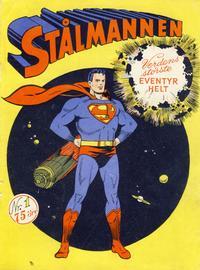 Cover Thumbnail for Stålmannen (Serieforlaget / Se-Bladene / Stabenfeldt, 1952 series) #1/1952