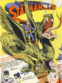 Cover Thumbnail for Stålmannen (Serieforlaget / Se-Bladene / Stabenfeldt, 1952 series) #2/1952
