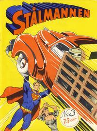 Cover Thumbnail for Stålmannen (Serieforlaget / Se-Bladene / Stabenfeldt, 1952 series) #3/1952