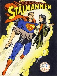 Cover Thumbnail for Stålmannen (Serieforlaget / Se-Bladene / Stabenfeldt, 1952 series) #4/1952