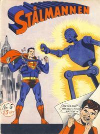 Cover Thumbnail for Stålmannen (Serieforlaget / Se-Bladene / Stabenfeldt, 1952 series) #5/1952