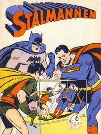 Cover Thumbnail for Stålmannen (Serieforlaget / Se-Bladene / Stabenfeldt, 1952 series) #6/1952