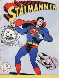 Cover Thumbnail for Stålmannen (Serieforlaget / Se-Bladene / Stabenfeldt, 1952 series) #2/1953